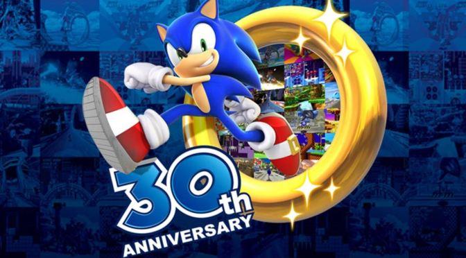 SONIC the hedgehog celebra su 30° aniversario
