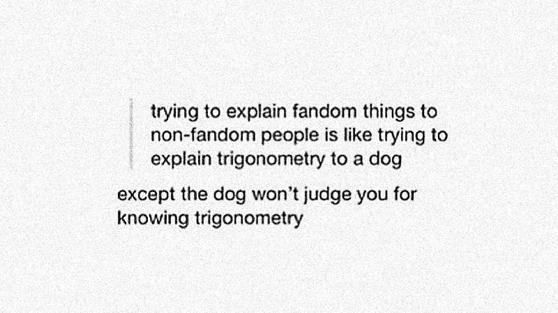 Aquele com Friends e sobre eu ser fangirl