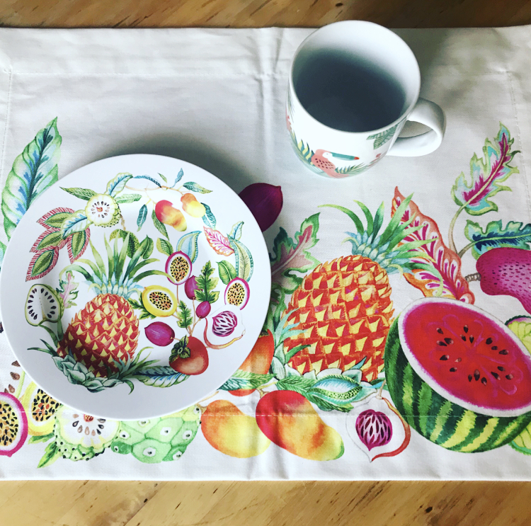 Estampados frutales de Zara Home