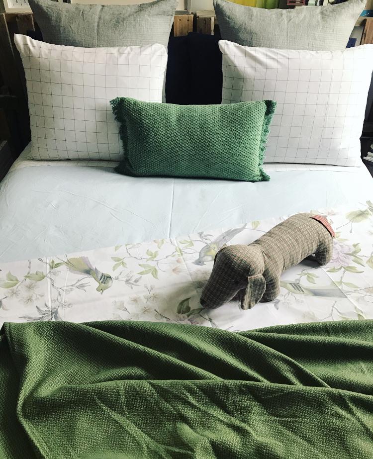 Azules y Verdes para tu dormitio
