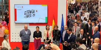 "Acto de firma en Fitur del convenio ""Fair Hotels"", 23ENE2020"
