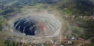 Recreación de un proyecto de minería buitre en Extremadura
