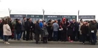 Vecinos de Carabanchel reivindican un memorial en recuerdo de los presos en Carabanchel, en los terrenos de la antigua cárcel del franquismo