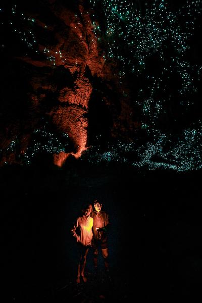 Waipu Caves, la cueva en la que el firmamento está hecho de pequeños gusanos fluorescentes