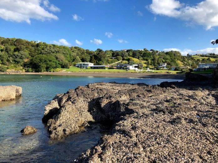 Cala Kowharewa Bay. Isla Norte de Nueva Zelanda
