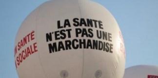 Francia la salud no es una mercancia globo