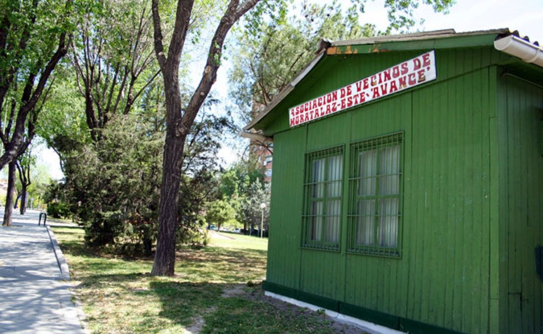 Caseta vecinal de Avance en Moratalaz