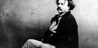 Gaspard Felix Tournachon Julio Verne detalle