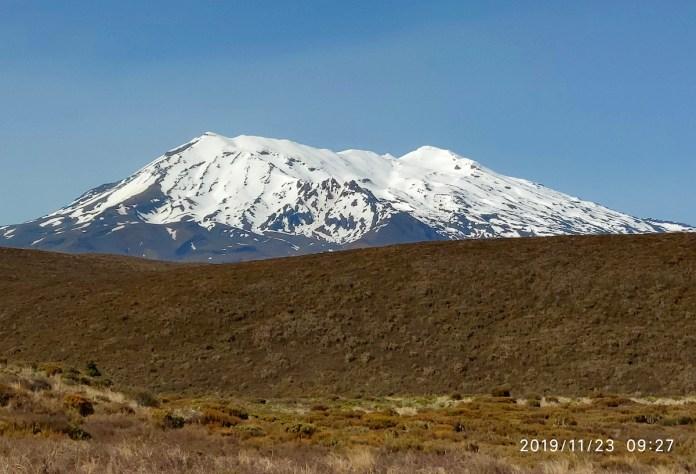 Tongariro National Park. El volcan con más actividad alberga una estación de esquí