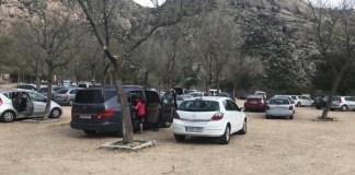 La Pedriza aparcamiento