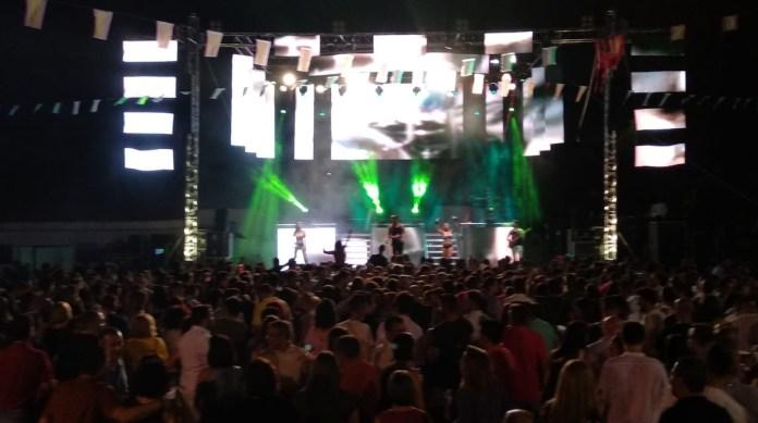 Yeray Arencibia festejos populares noche