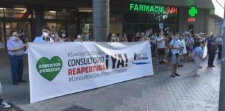 Asamblea Madrid vecinos La Poveda Arganda 2JUL2020