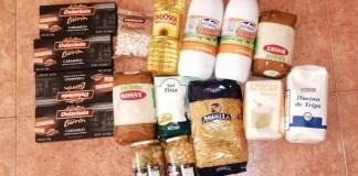 Cesta alimentos Ayuntamiento Madrid