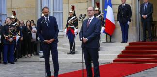 Edouard Philippe cede presidencia a Jean Castex (d)