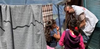 MSF en el campamento de Vathy en Samos