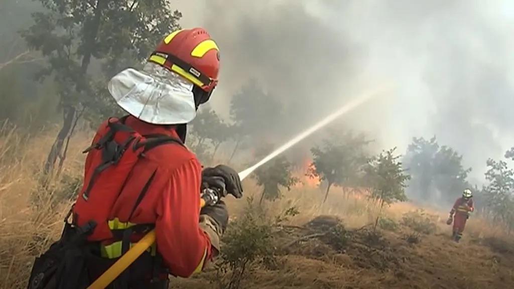 UME Monterrei Galicia incendios forestales