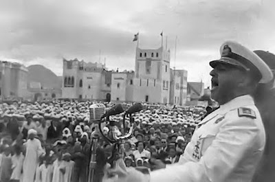 Franco en el Sahara, 1950