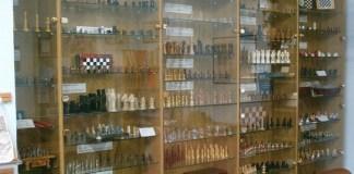 Numerosos tableros en las instalaciones del Museu de Escacs de Castellar del Vallés.