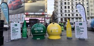 Campaña de Ecoenbes y Ecovidrio en Madrid