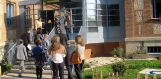 19 de octubre de 2011: visita de jueces y magistrados al Centro de Menores el Lavadero de la Comunidad de Madrid