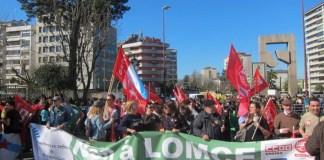 Galicia movilizaciones educación pública