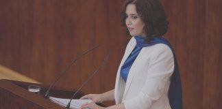 Isabel Díaz Ayuso debate región Madrid 14SEP2020