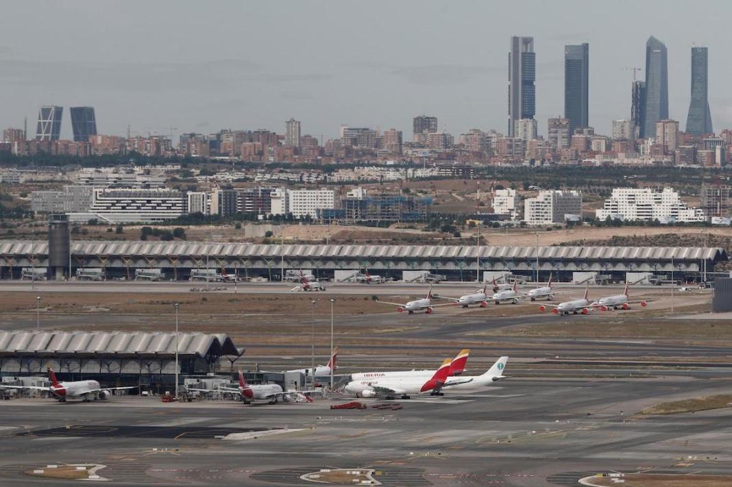AENA complejo aeroportuario Madrid