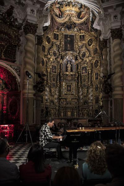 David Peña Dorantes, en el concierto «Identidad», San Luis de los Franceses, Sevilla, 30 de septiembre de 2020