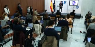 El presidente del Gobierno, Pedro Sánchez, ha ofrecido una rueda de prensa para hacer balance de los contenidos y acuerdos del Consejo Europeo celebrado los días 1 y 2 de octubre en Bruselas. © Fernando Calvo