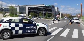 Tres Cantos policía municipal controles