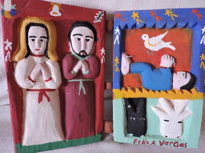 Natividad de Félix Vargas. Arte popular