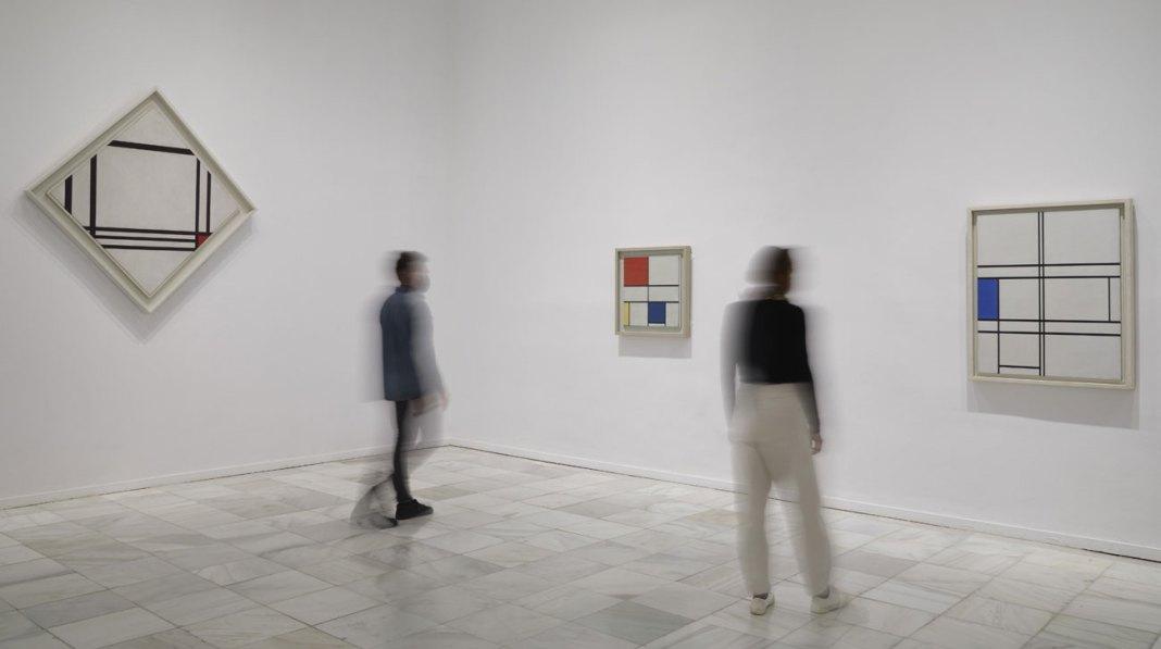 Piet Mondrian en el Museo Reina Sofía
