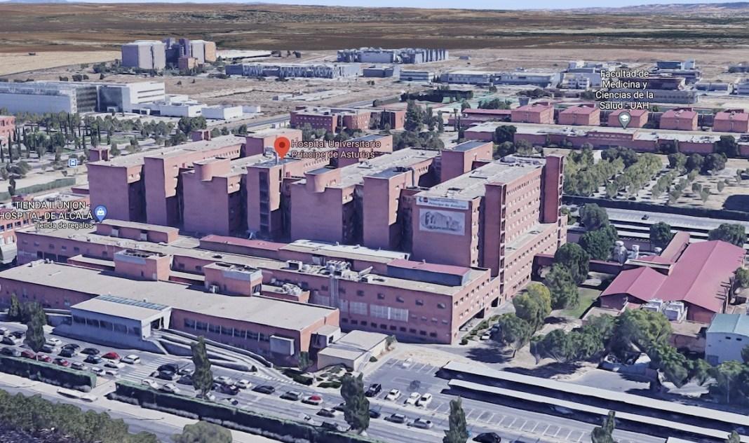 Hospital Príncipe de Asturias Alcalá Henares MAP