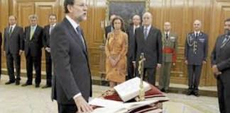 Mariano Rajoy Brey jura como presidente del Gobierno ante el Rey