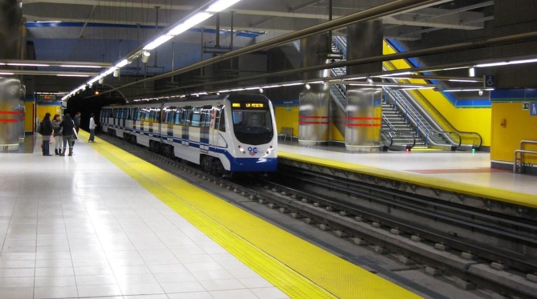 Metro Madrid línea once