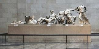 Mármoles del Partenón en el Museo Británico