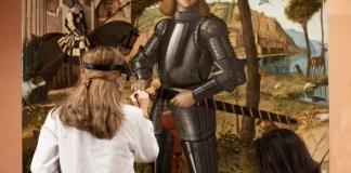 Carpaccio: Joven caballero en proceso de restauración