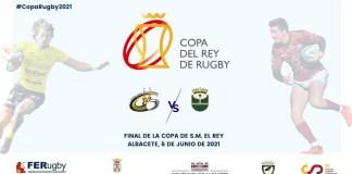 Cartel de la final de la Copa del Rey de Rugby