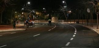 Tres Cantos policía controla medidas