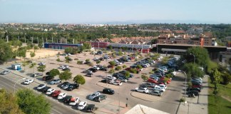 Aravaca cercanías aparcamiento