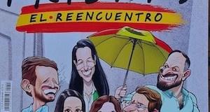 Portada de El Jueves sobre las tres derechas en la Plaza de Colón MAY2021