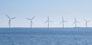 Energía eólica en el mar