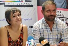 Eva Martínez y Fran Muñoz Leganemos