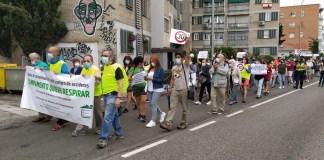 Campamento Boadilla manifestación