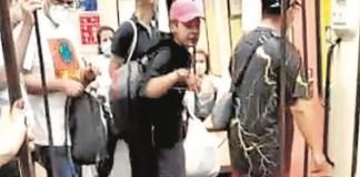 Metro Madrid agresión sanitario