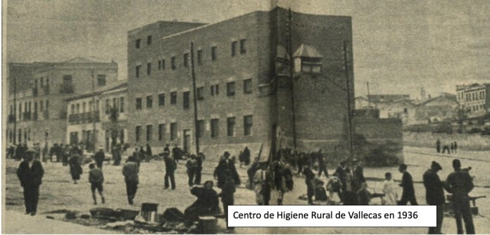 Magda Donato Vallecas centro higiene rural 1936