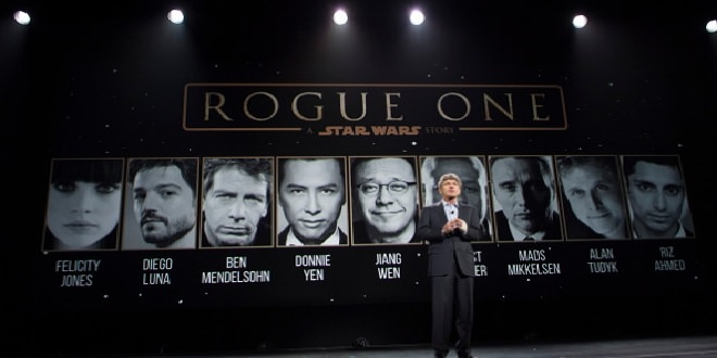 Presentación del spin-off de Star Wars: Rogue One.