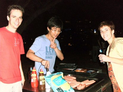 Barbecuing :P