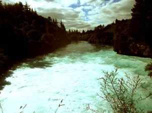 [ Huka Falls, TAUPO ]