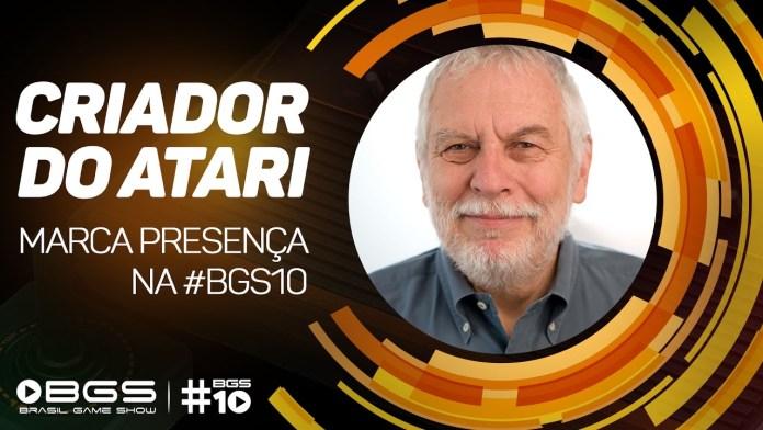 BGS 2017 – Confirmado! Nolan Bushnell, o criador do Atari, estará presente no evento.